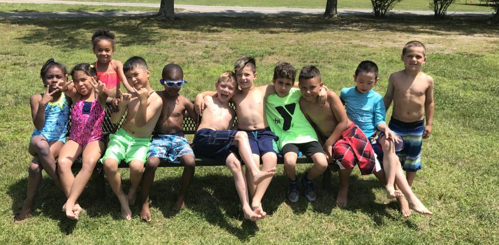 YMCA campers