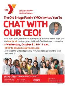 CEO Meet & Greet   Try Old Bridge Family YMCA