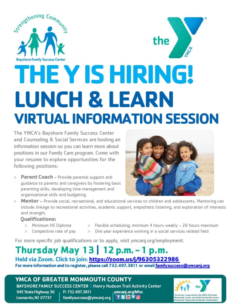 LUNCH & LEARN: VIRTUAL INFORMATION SESSION